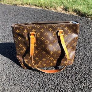 Louis Vuitton Cabas piano monogram tote